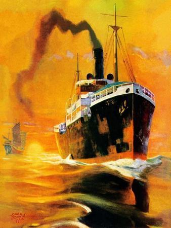"""""""Freighter,""""December 14, 1935"""