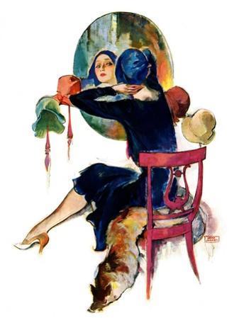 """""""Hat Shop,""""November 30, 1929"""