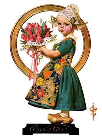 """Easter Dutch Girl,""April 3, 1926"