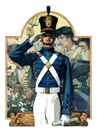 """Military School Graduate,""July 3, 1926"