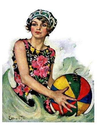 """Bathing Beauty and Beach Ball,""August 7, 1926"