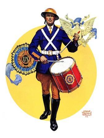 """""""American Legion Drummer,""""October 7, 1933"""