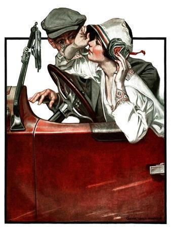"""Woman Driver,""July 21, 1923"