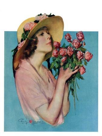 """Pink Rose Bouquet,""June 18, 1927"
