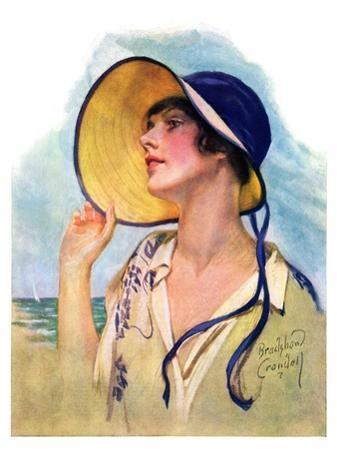 """Woman at the Shore,""August 20, 1927"