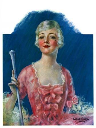 """Costumed Woman,""December 10, 1927"