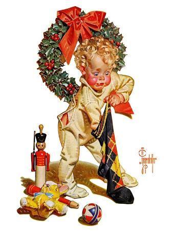 """Christmas Stocking Joy,""December 24, 1938"