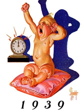 """""""Waking to the New Year,""""December 31, 1938"""