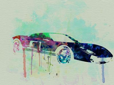 Ford Gt Watercolor 2