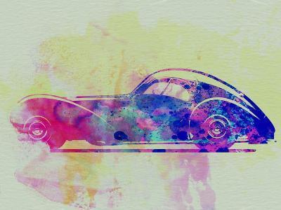 Bugatti Atlantic Watercolor 3