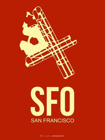 Sfo San Francisco Poster 2