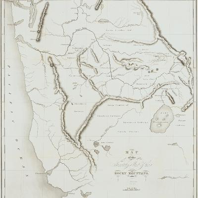 Map of the Territory West of the Rocky Mountains, 1837