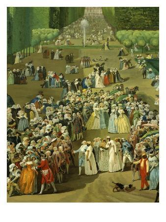 Reception for Ambassadors of Tiphoo-Sahib or Tipu Sultan in the Saint-Cloud Park, 18 August 1788