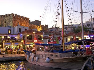 Restaurants, Marmaris, Datcha Peninsula, Turkey