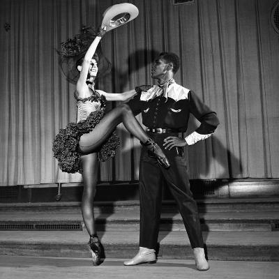 Arthur Mitchell, Tanaquil LeClercq - 1955