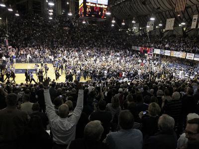 Butler vs Gonzaga - Fans Celebrate, NCAA Game: Indianapolis, Jan. 19, 2013