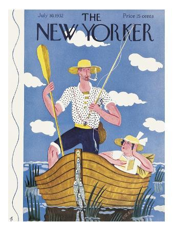 The New Yorker Cover - July 30, 1932