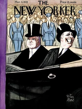 The New Yorker Cover - March 4, 1933