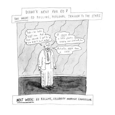 What's next for Ed? - New Yorker Cartoon