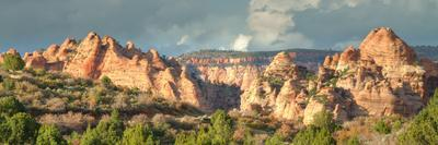 Hills of Kolob Canyon in Afternoon Light