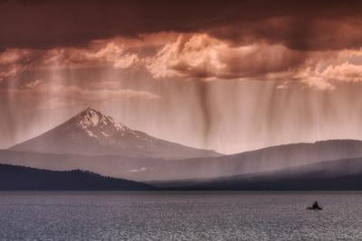 Rainfall at Klamath Lake