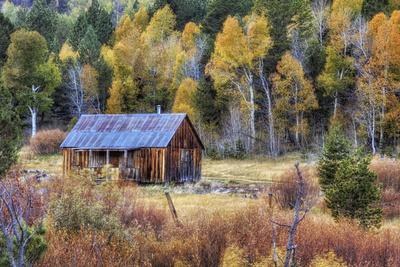 Autumn Scene in Hope Valley
