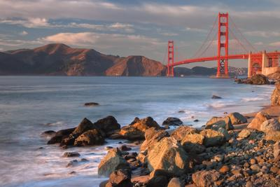 Late Afternoon, Baker Beach, San Francisco
