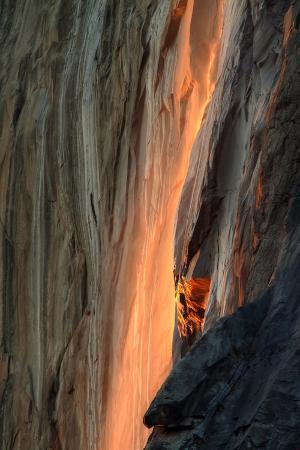 Firefall Detail, Yosemite