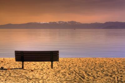 South Tahoe Lakeside Morning