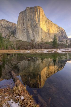 Reflections at El Capitan, Yosemite