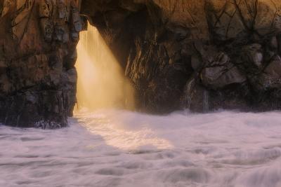 Ocean Door and Golden Light