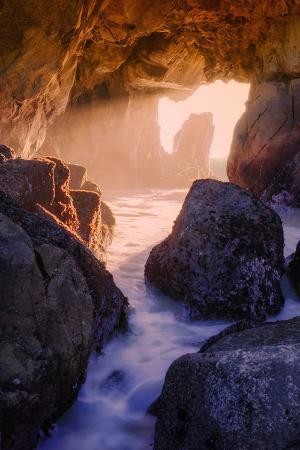 Light Through an Ocean Doorway