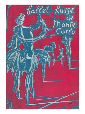 Poster for Ballet Russe De Monte Carlo