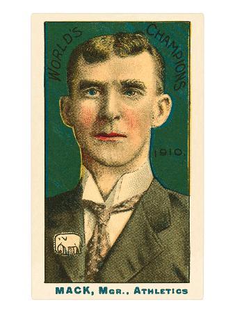 Early Baseball Card, Connie Mack