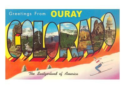 Greetings from Ouray, Colorado