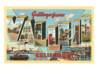 Greetings from Vallejo, California