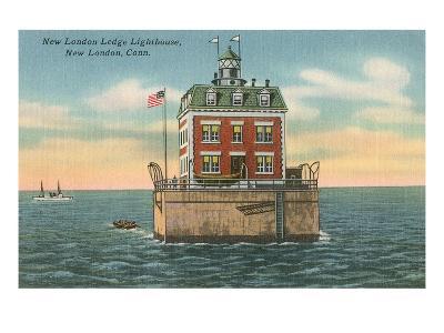 Lighthouse, New London Ledge, Connecticut