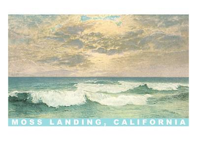 Seascape with Clouds, Moss Landing, California