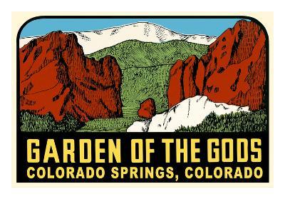 Decal for Garden of the Gods, Colorado Springs