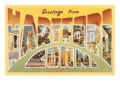 Greetings from Hartford, Connecticut