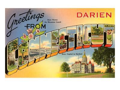 Greetings from Darien, Connecticut