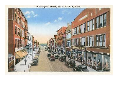 Downtown, South Norwalk, Connecticut