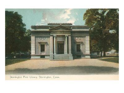 Free Library, Stonington, Connecticut