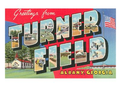 Greetings from Turner Field, Georgia