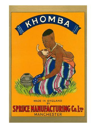 African Woman, Khomba Poster