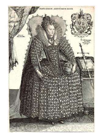 Queen Elizabeth I in Uncomfortable Gown