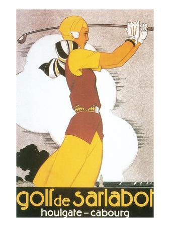 Golf De Sarlabot, Woman Golfer