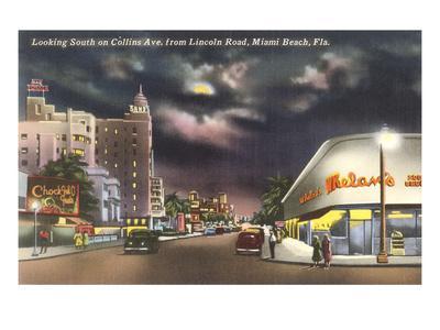 Lincoln Road, Miami Beach, Night