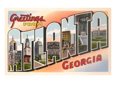 Greetings from Atlanta, Georgia
