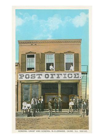 Frontier Post Office, Cairo, Illinois
